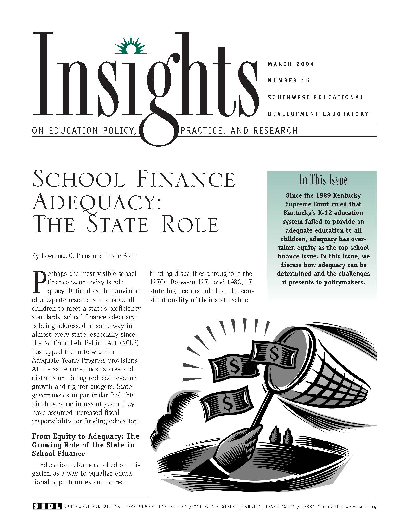 cover of insights